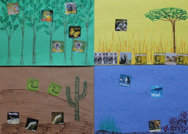 Animal Habitat Worksheets For Preschoolers : Best animal homes images on pinterest habitats