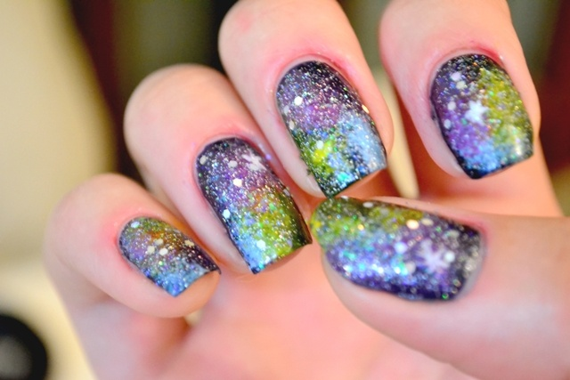 Galaxy Nails by Jess
