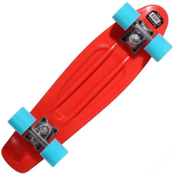 800** Dětský plastový skateboard modrý