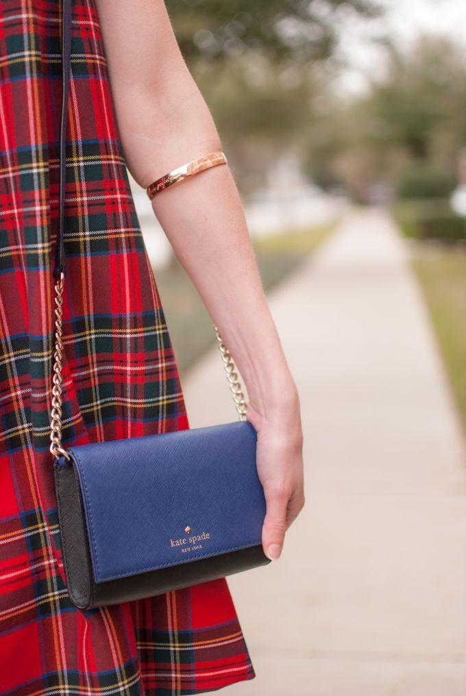 Kate Spade mini purse and rose gold bangle