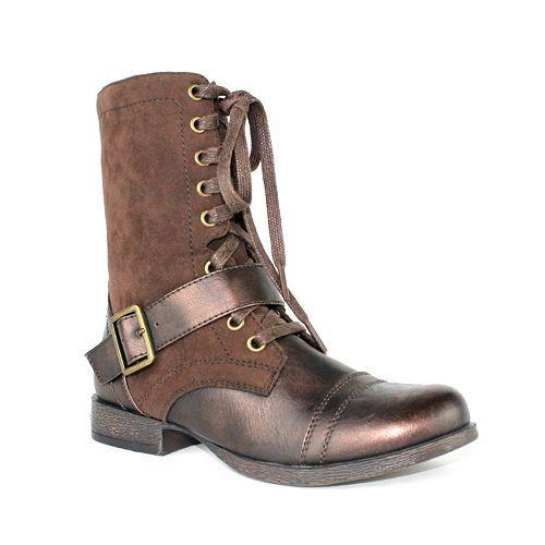 Olivia Miller Blaze Women's Military Boots