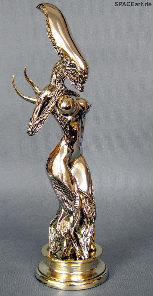 Alien: Female Alien Mother Statue - Gold Edition, Statue ... http://spaceart.de/produkte/spa022.php