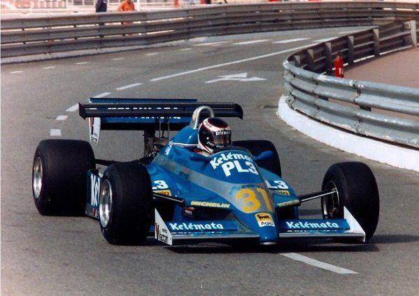1983 Monaco Kelemata Osella-Ford Corrado Fabi