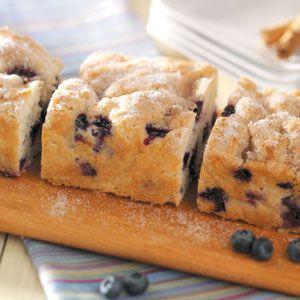 Blueberry Streusel Coffee Cake Recipe