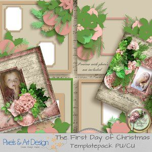 THE FIRST DAY OF CHRISTMAS TEMPLATEPACK BY ANGELIQUE'S SCRAPS available @ http://www.pixelsandartdesign.com/store/index.php?main_page=index&cPath=128_223&zenid=041132cb17366d0cb6df028d30b26895 http://www.digiscrapbooking.ch/shop/index.php?main_page=index&cPath=22_217&zenid=84a0b4184d637e89e5dd7d1ac11bf69c