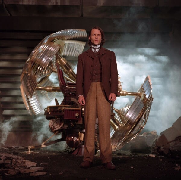 The Time Machine - Time being the fourth dimension, could a machine be invented to move back and forth through time? A time machine could not move in space, only in time; There is, however, the danger of the Butterfly Effect and/or the Grandfather Effect - changing the past would make the present nonexistent.