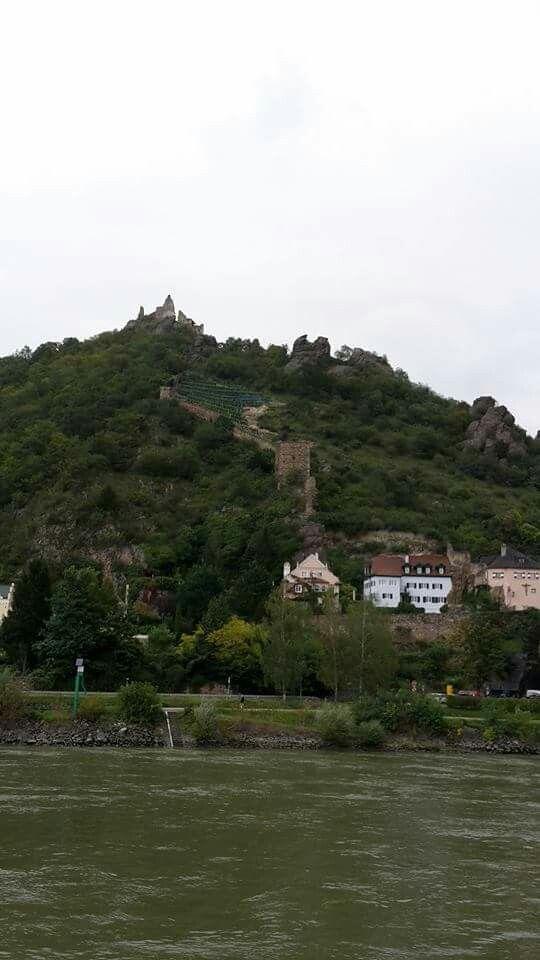 Durnstein castle Wachau valley Austria