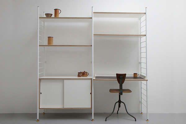 Albam Clothing desk