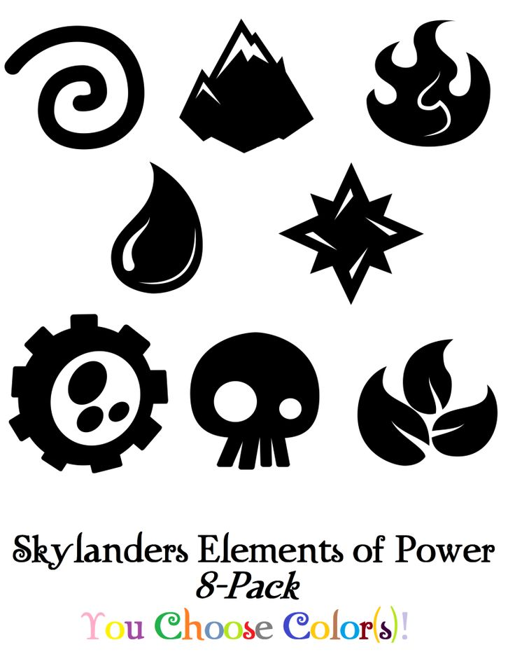 Elements of Power Icons