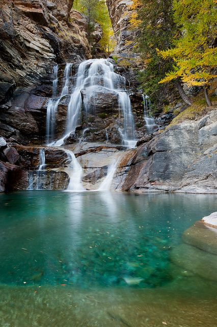 Lillaz Waterfalls, Gran Paradiso national park, Valle d'Aosta, Italy  #monogramsvacation