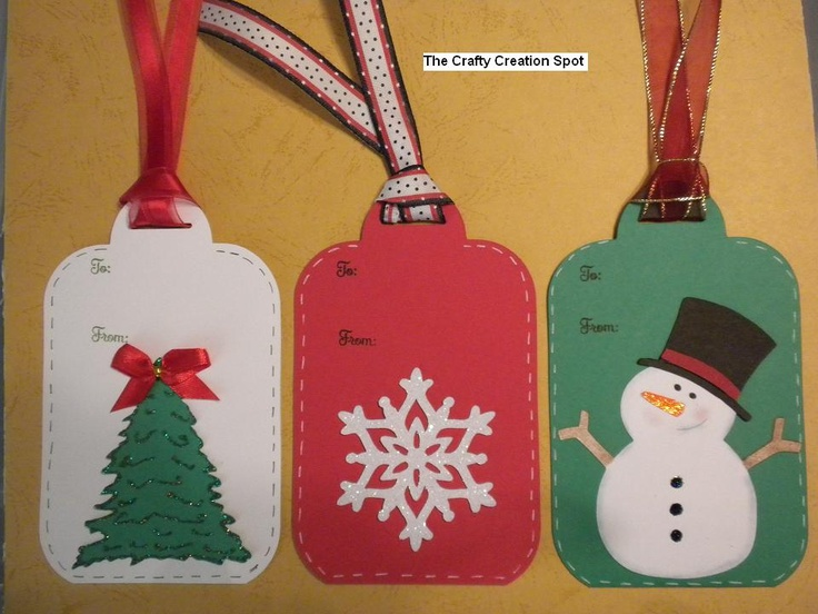 Cricut christmas gift tags ideas