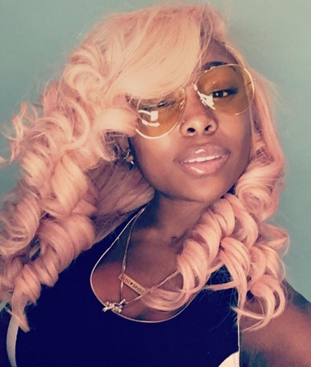 Pin By Amour Jayda On Pink Hair Curly Weave Hairstyles