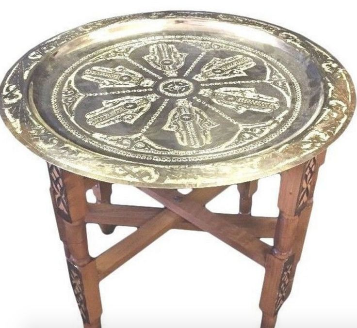 http://www.houzz.com/photos/54124299/Moroccan-Table-engraved-Gold-Tray-Top-Khamsa-hand-Lucky-Hamsa-Hand-215-mediterranean-folding-tables