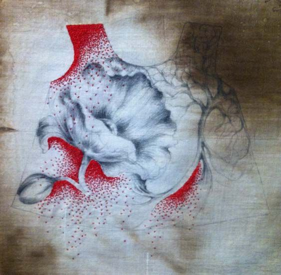 ERIN ENDICOTT - FIBER ARTIST: EMBROIDERY - USA