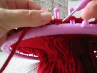 ▶ faire une torsade sur le tricotin géant - Vidéo Dailymotion