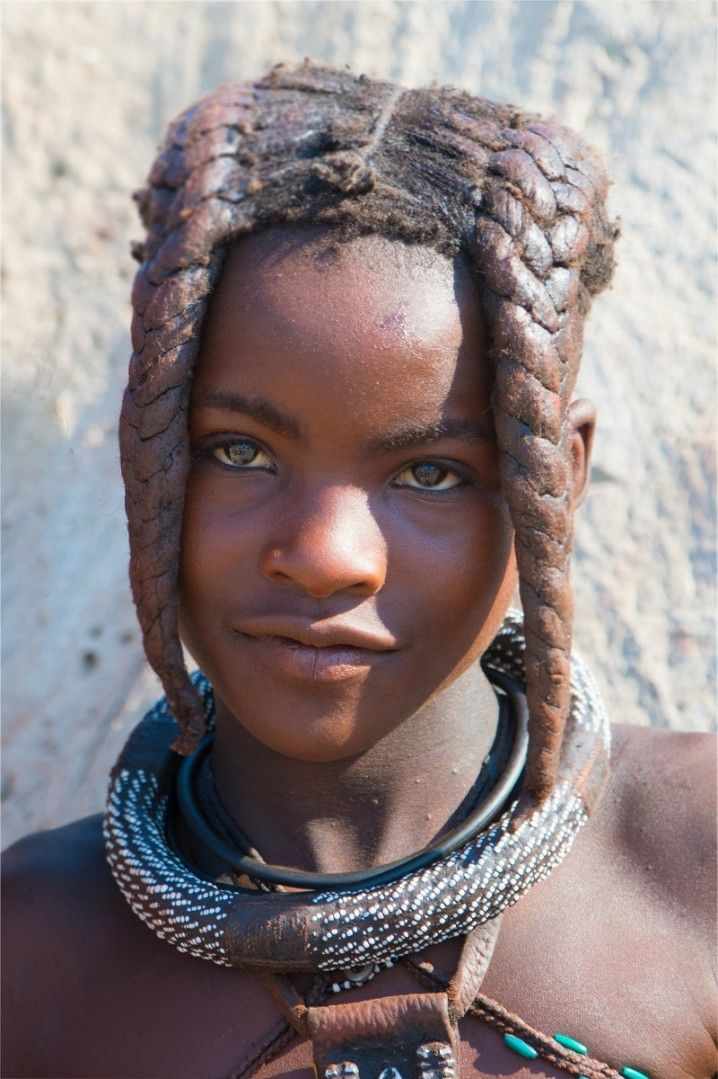 Himba Girl  Ovahimba  Himba Girl, African Beauty -4652