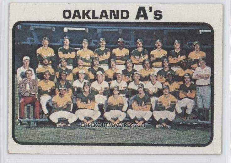 Oakland A's, winners of the 1973 World Series