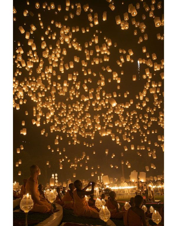 Sky lantern lust - wedding send off or in memory of a loved one.  Sold at my store :-)