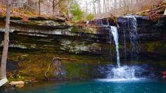Devils Canyon Scenic Area Trail & Bushwhack is a 2.6 mile lightly trafficked loop trail located near Mulberry, Arkansas that features a waterfall and is only recommended for very experienced adventurers. The trail offers a number of activity options and is accessible year-round.