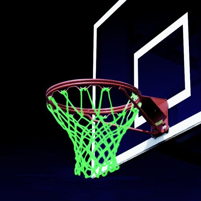 (1) Fancy - Glow In The Dark Basketball Net