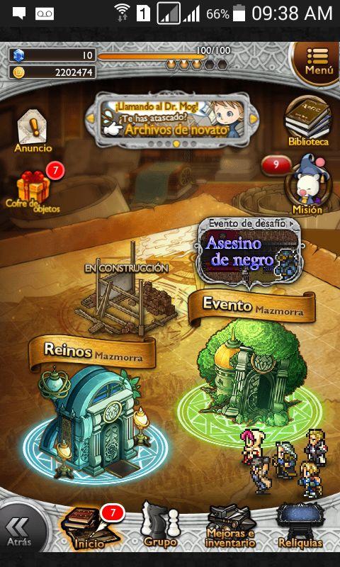 Blog MundoDeluxe: Consejos Final Fantasy parte II con actualización 14/12/2015