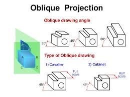 Image result for oblique drawing