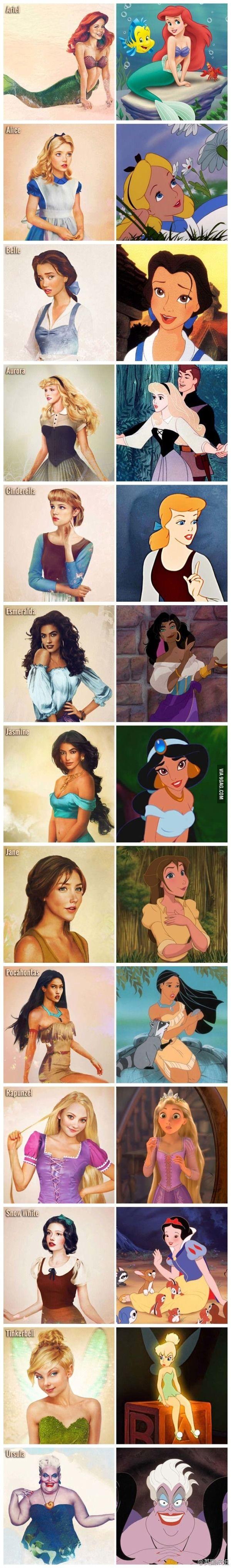 Princesas real