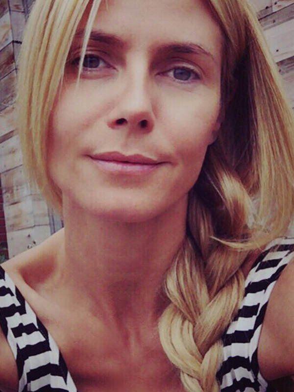 Auch ungeschminkt ein Hingucker: Heidi Klum sieht auch ohne Make-up wie aus dem Ei gepellt aus. Auf Instagram teilt sie regelmäßig Fotos von sich auf denen sie ganz ohne Schminke zu sehen ist. Top!