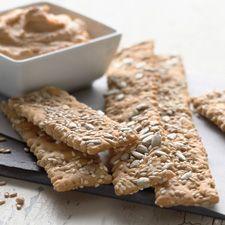 Crunchy Crackers : King Arthur Flour