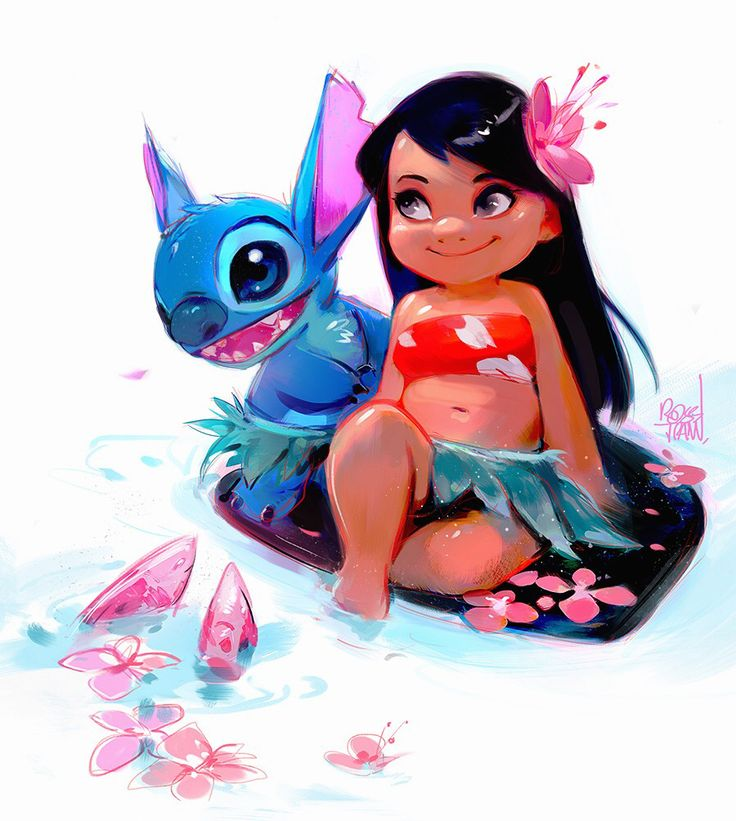 Guys I'm back!! It feels so good to be home :) I took a small break for myself to retune and find new inspirations. I'm drawing Lilo and Stitch for this week's episode inspired by my recent trip....