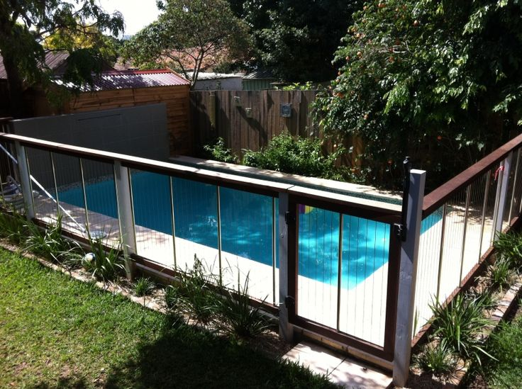 Hardwood Pool Gate and Fencing