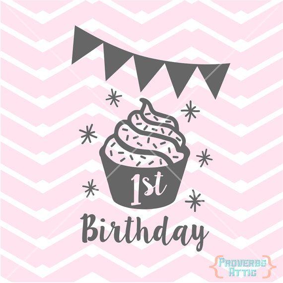 Download 1ST BIRTHDAY girl baby onesie t-shirt screenprint banner ...