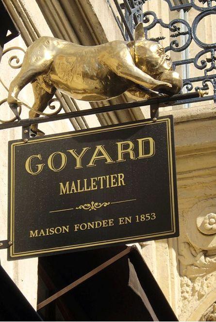 Maison Goyard • 352 rue Saint-Honoré √ (malletier) http://www.goyard.com/