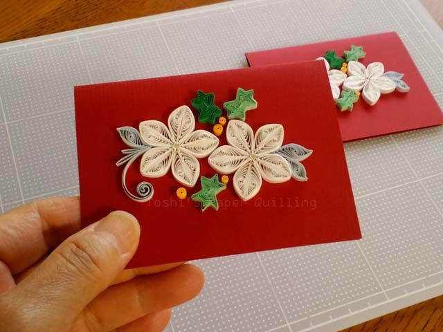 真っ赤なカード:クリスマス