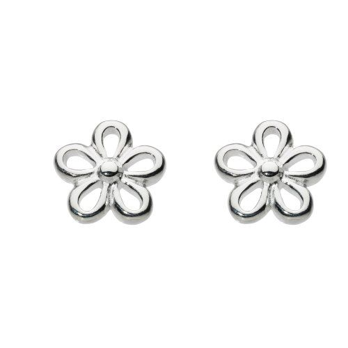 Dew Women's Sterling Silver Bunny Stud Earrings IOW7mM