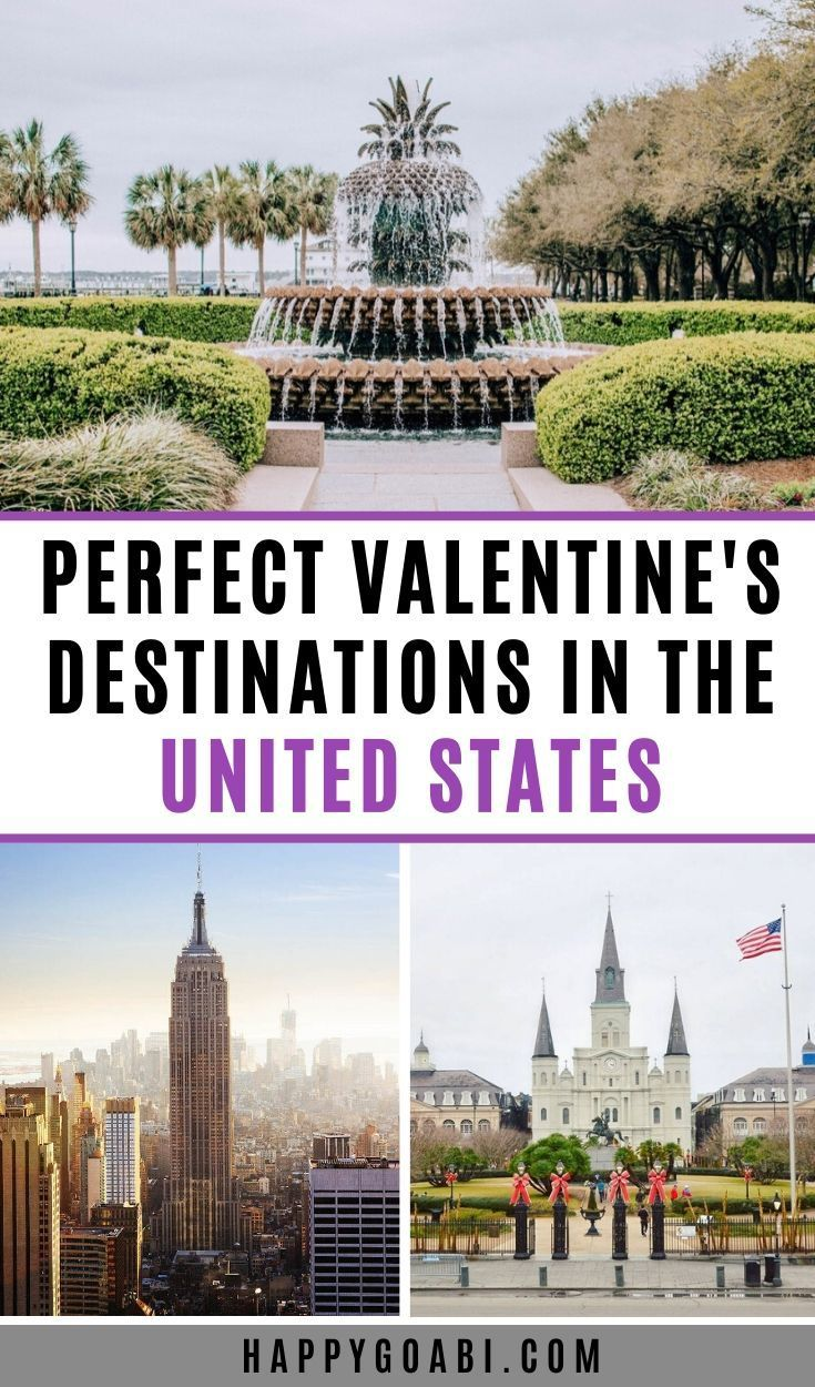 17 Most Romantic Getaways In The Usa In 2020 Romantic Getaways Family Vacation Travel Romantic Vacations