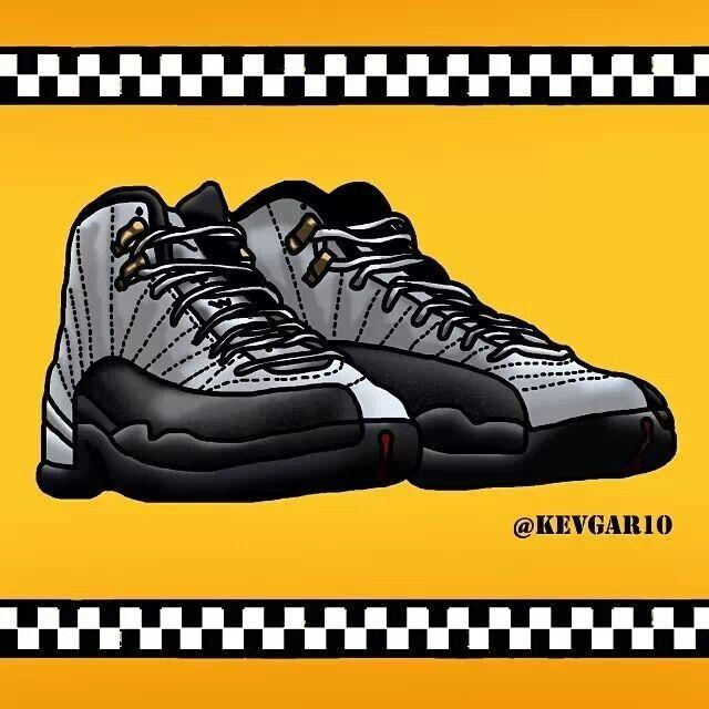Dope #Jordan #Retro12 #Taxi