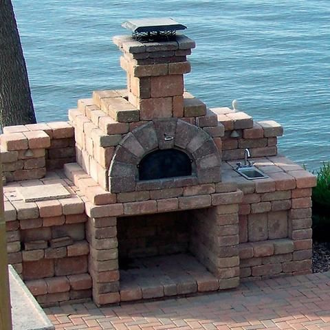 Chicago Brick Oven CBO-1000 Wood Burning Pizza Oven Kit - Patio & Pizza