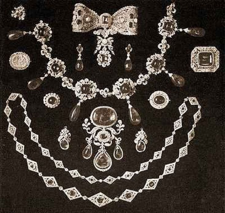 RUSSIAN IMPERIAL FAMILY JEWELS                                                                                                                                                                                 More