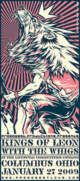 GigPosters.com - Kings Of Leon - Whigs, The