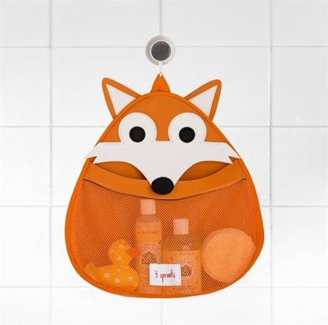 3 Sprouts Bath Storage - Fox
