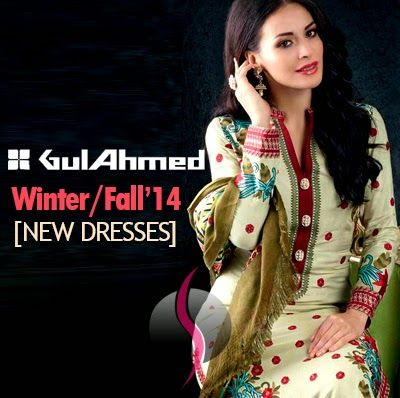 Gul Ahmed Fall-Winter Collection 2014-2015 Magazine / Catalog - She9 | Change the Life Style