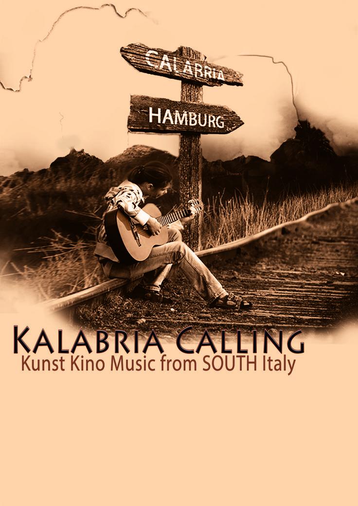 Kalabria Calling - Hamburg  Illustrazione per la presentazione della rassegna di musica calabrese ideata ad Amburgo