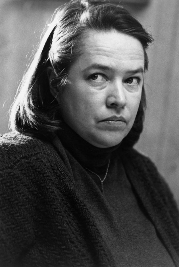 Kathy Bates as 'Annie Wilkes' in Misery (1990) movie and book by Stephen King