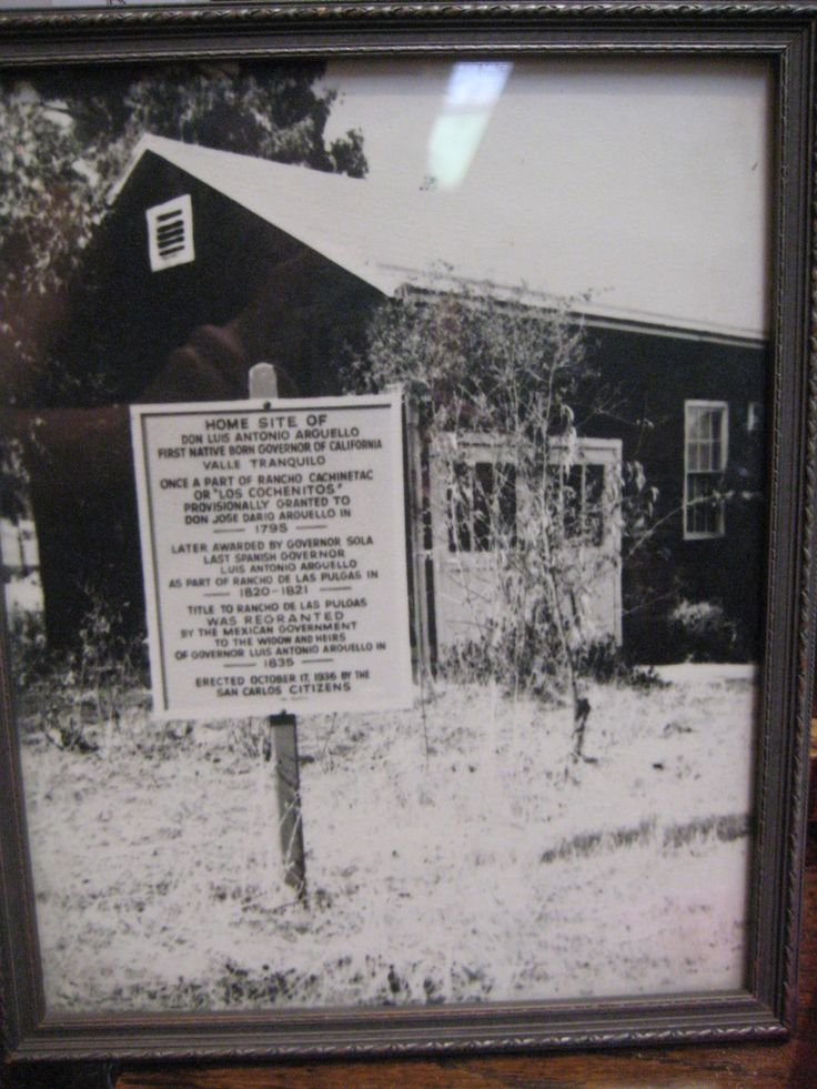 The site of the Arguello homestead -- from which Aleksandra and Xavier set off in 1863.