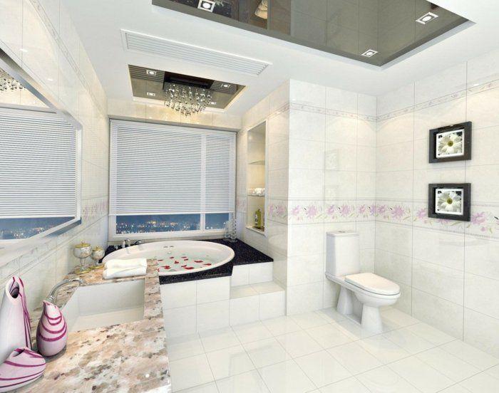 Badezimmer gestalten - Wie gestaltet man richtig das Bad nach Feng ...
