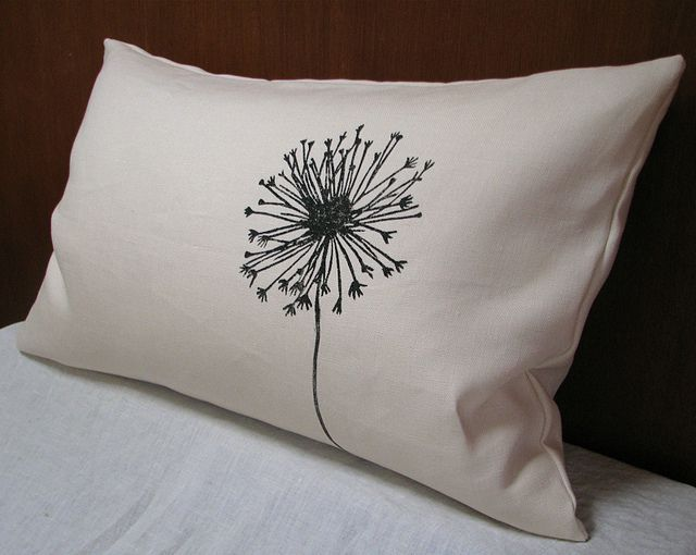 Allium Pillow | Flickr - Photo Sharing!