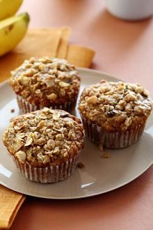 Repin and Win #ChiquitaChallenge Week 4 // Oatmeal Raisin Chiquita Banana Muffins Recipe. The tastes and aromas of banana bread and oatmeal raisin cookies combine in these delicious, hearty muffins.