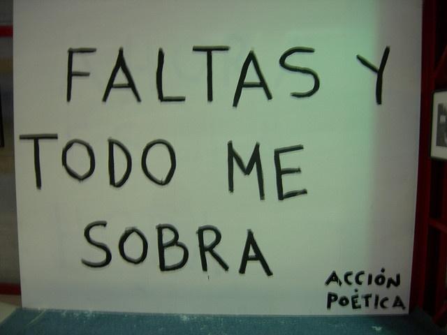 Acción Poética 9 by Ulises Muñiz, via Flickr
