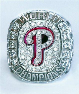 Philadelphia Phillies 2008 World Series Ring